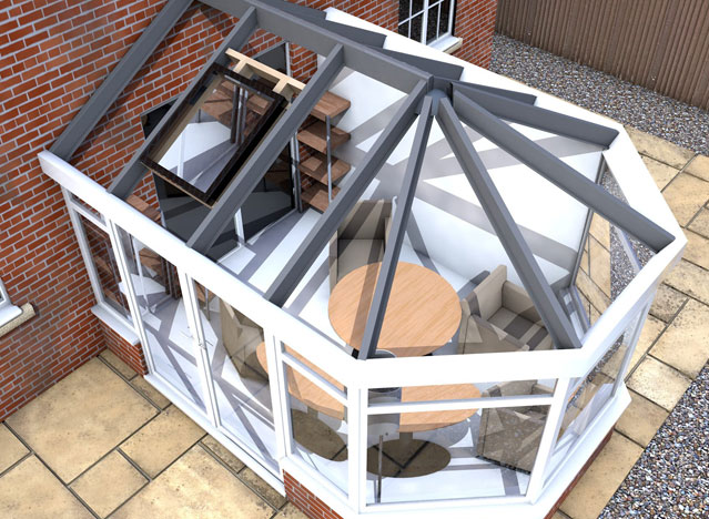 LEKA System Conservatory and Orangery Roof Replacement and LEKA System Installer Training Covering all   Devon, Exeter Plymouth, Torbay, South Hams or North Devon and the surrounding areas